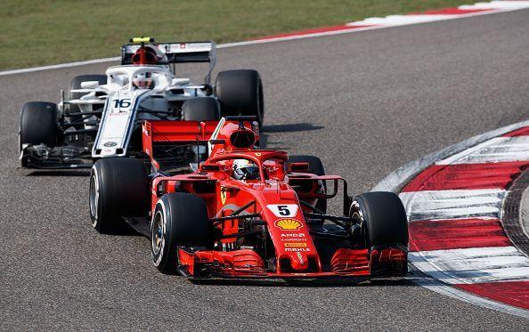 Vettel and Leclerc didn