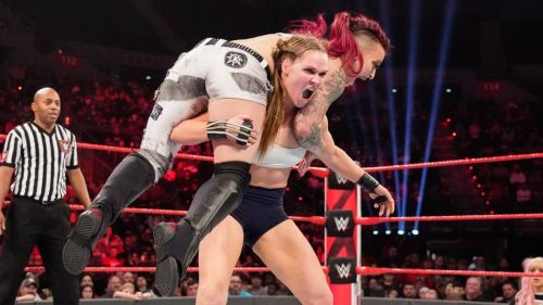 Rousey wasn't originally supposed to face Ruby Riott on Raw