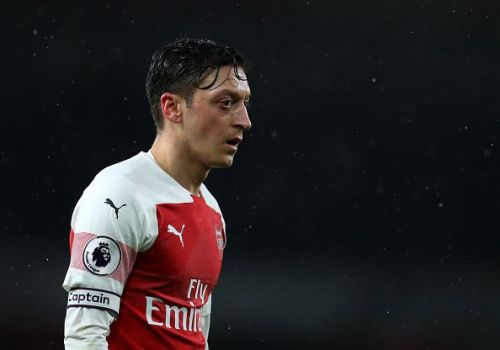 Mesut Ozil has started just one game in 2019