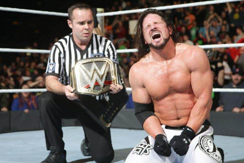 AJ Styles has been the face of Smackdown Live since 2016.