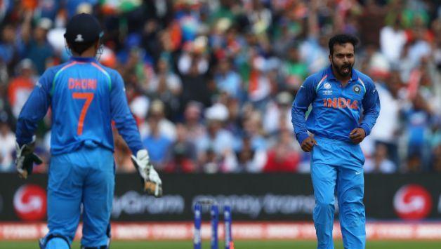 Dhoni and Kedar Jadav