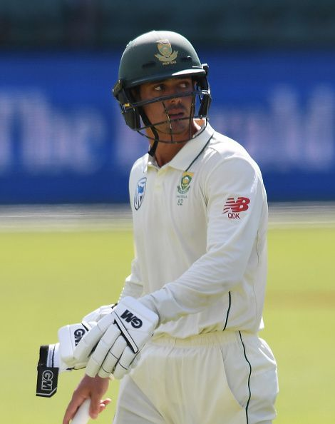 Quinton de Kock's runs gave South Africa's bowlers something to defend.