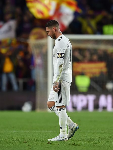 Sergio Ramos failed in his duties on the day