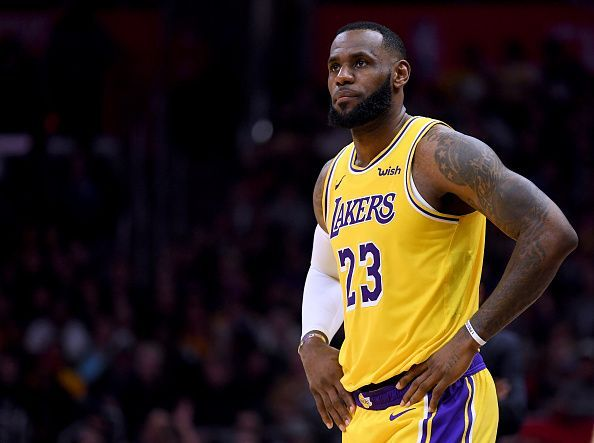 LeBron James made his return against the Clippers