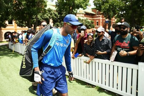 Hardik Pandya has been ruled out of the T20I and ODI series against Australia