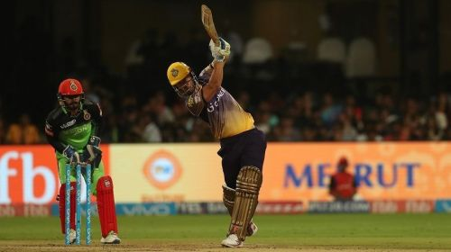 Lynn tormented the RCB bowlers when the two sides met in 2017