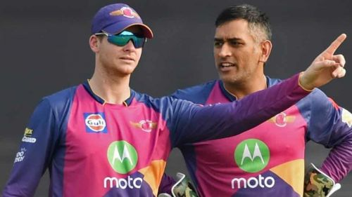 Steve Smith (left) has played several memorable knocks for RPS