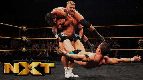 Undisputed Era vs Moustache Mountain is an example of an NXT vs NXT UK dream match.