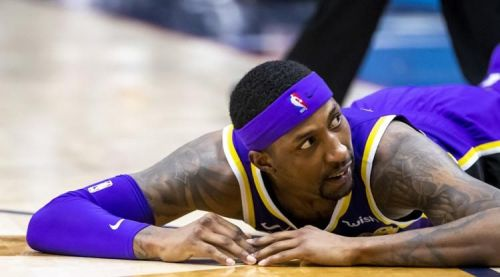 Kentavious Caldwell-Pope struggled shooting against the Pelicans. Credit: The Advocate