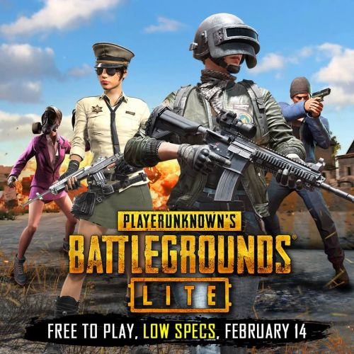 PUBG LITE BETA will be available to 4 more regions from February 13th