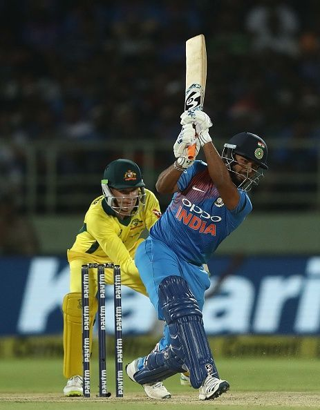 Rishabh Pant is all set to ignite the stage.