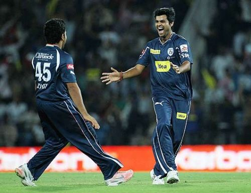 RP Singh picked 4 wickets in that match to skittle KKR out for a total of 101