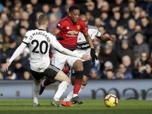 Fulham defender Maxime Le Marchand had an afternoon to forget against Manchester United