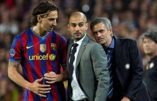 Zlatan did not agree with Pep's formation of 4-5-1 and insulted the club publicly after his departure