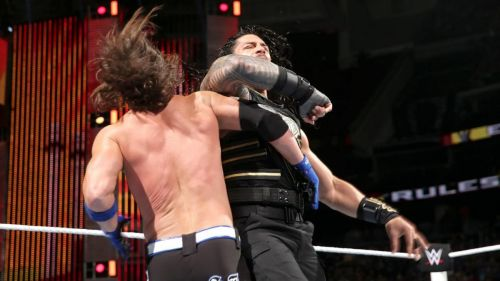 AJ Styles vs. Roman Reigns at Extreme Rules 2016 was the last time Styles headlined a co-branded PPV