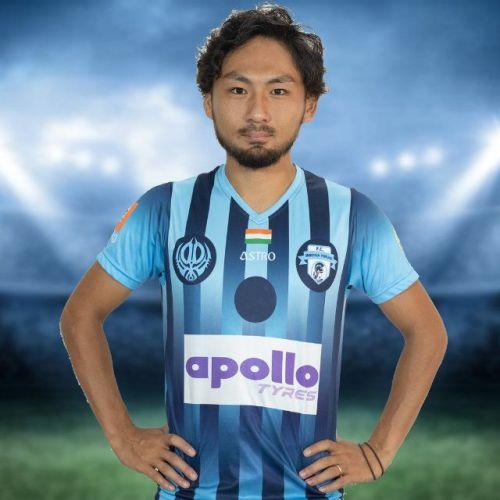 Yu Kuboki signed for Minerva Punjab last year