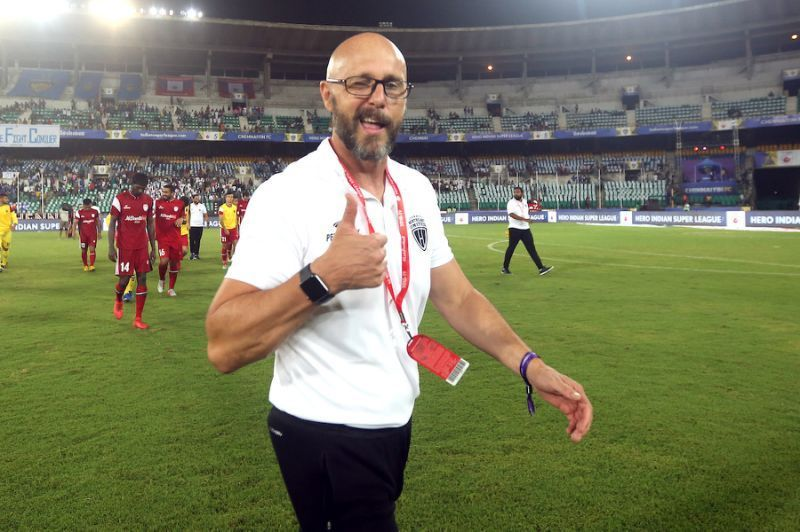 Eelco Schattorie is a former East Bengal coach