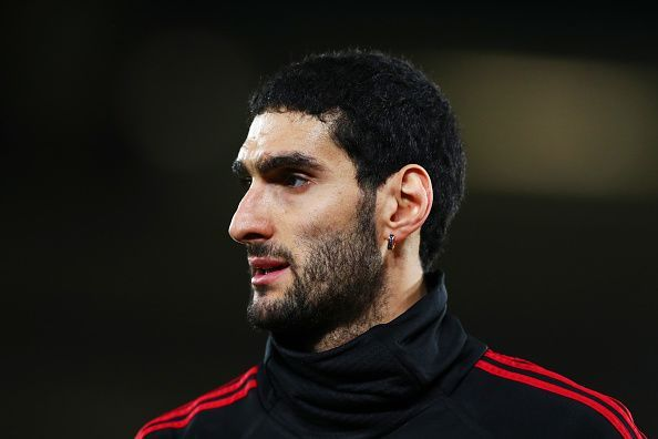 Marouane Fellaini left Manchester United after a seven-year spell