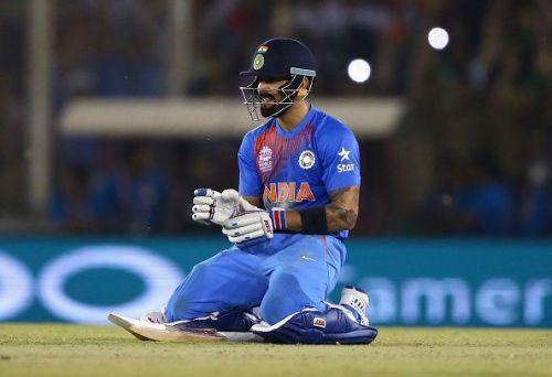 Virat Kohli scored 82* runs in Mohali