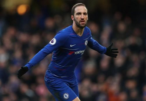 The Chelsea forward scored a brace in their 5-0 victory over Huddersfield
