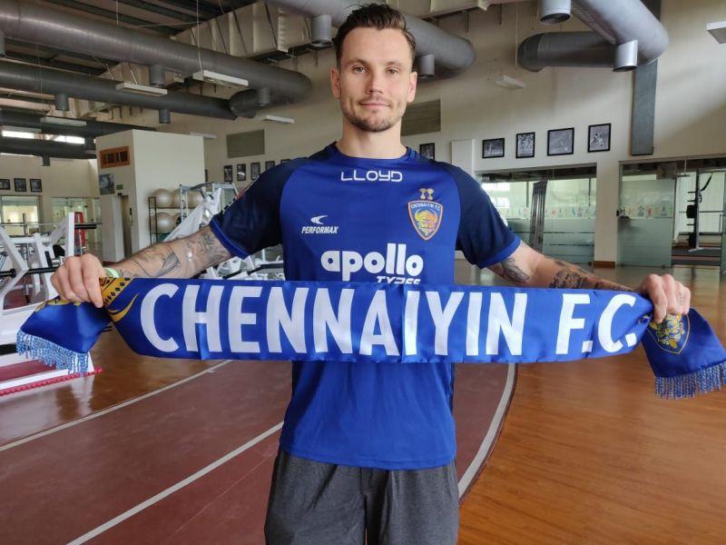 New Chennaiyin FC signing Chris Herd