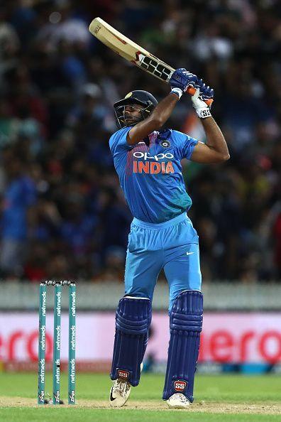 Vijay Shankar: New Zealand v India - International T20 Game 3