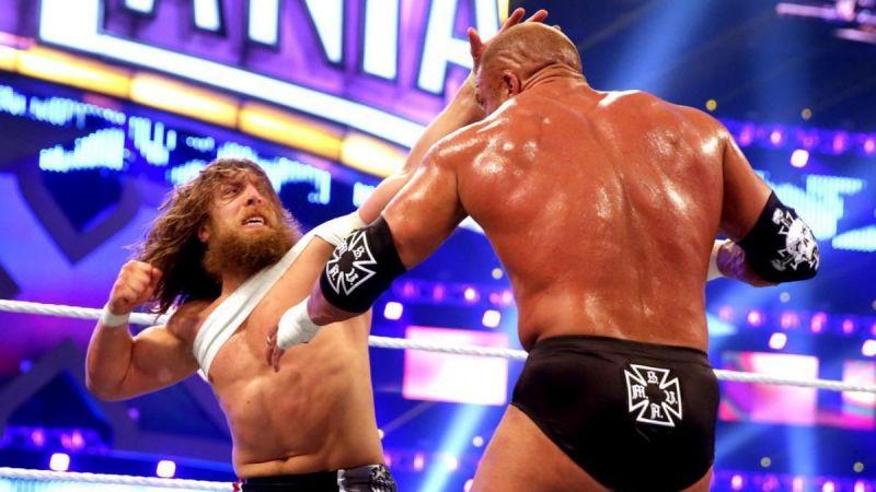Daniel Bryan punching The King of Kings!