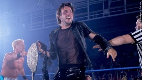 Actor David Arquette--or to some, Mr. Courtney Cox--was briefly WCW's World Heavyweight Champion.