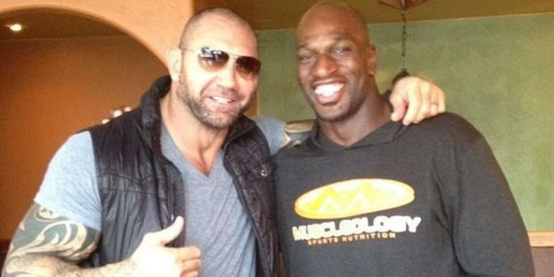 Batista said that Titus should leave WWE, after his unfair suspension in 2016.