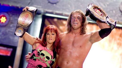Edge (with Lita) had a brief stint in World Championship Wrestling, before becoming a huge star in WWE.