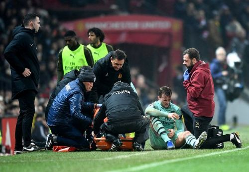 Injuries have ravaged the Arsenal squad.