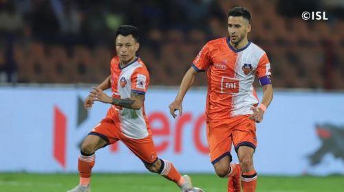 Ferran Corominas and Jackichand Singh for FC Goa