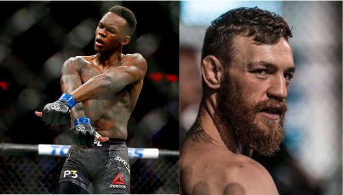 Israel Adesanya and Conor McGregor