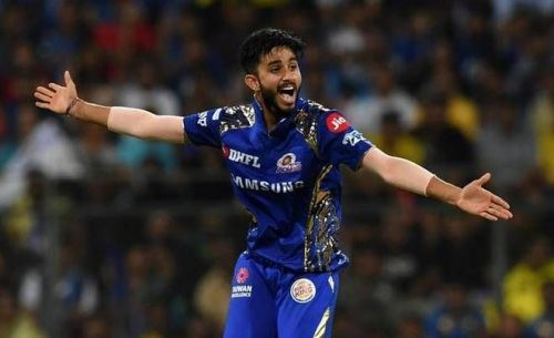 Mayank Markande was drafted into the Indian T20 squad for the upcoming home series against Australia