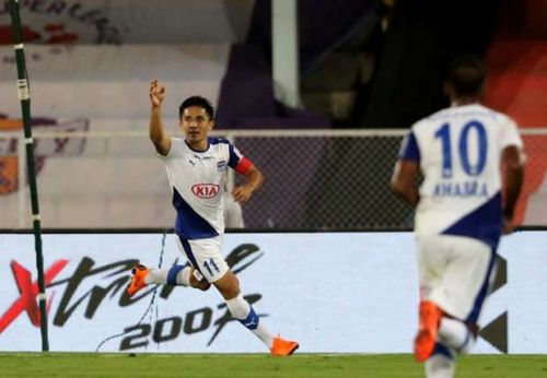 Sunil Chhetri will look to lead the charge for Bengaluru FC