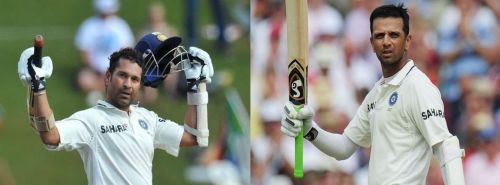 Sachin Tendulkar and Rahul Dravid are two of the greatest batsman produced by India in Test Cricket.