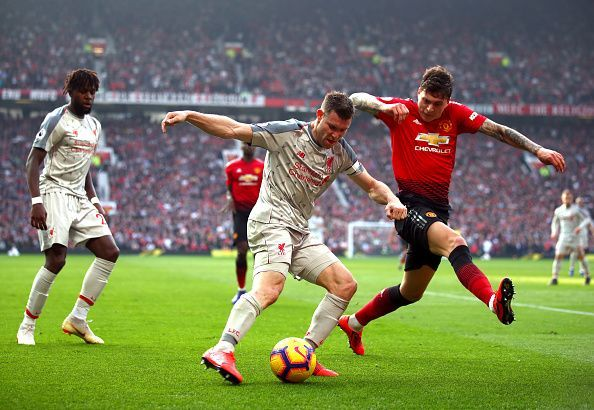 Lindelof impressed throughout and rarely put a foot wrong against the league leaders