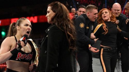 What does this mean for the RAW Women's Title match at WrestleMania 35?