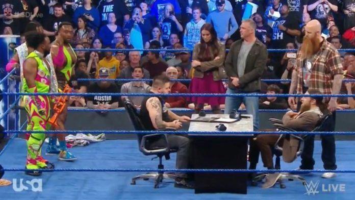 A shocker at SmackDown!