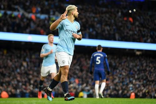 Aguero was at his attacking best against Chelsea