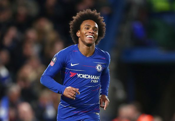 Willian has been unspectacular this season