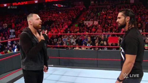Dean Ambrose seemingly turned face last night on Raw
