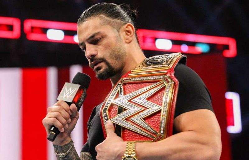 Roman Reigns as universal Champion