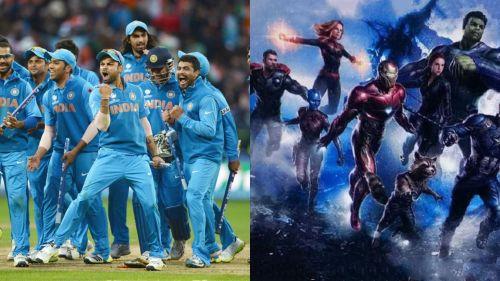 Team India as Team Avengers