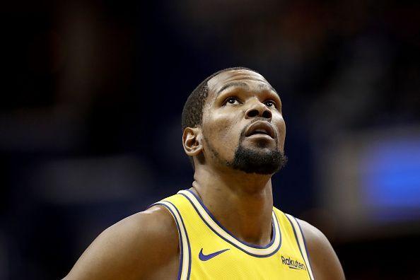 Durant has been outstanding for the Warriors