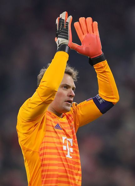Neuer looks likely to miss today's fixture.