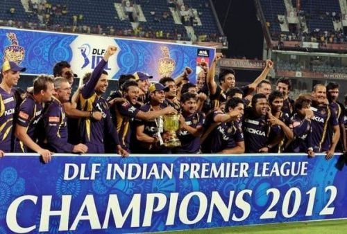 KKR were crowned champions in the 2012 edition