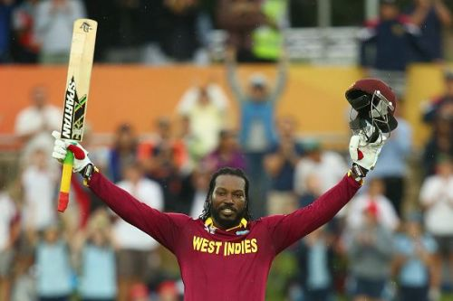 Gayle holds the record for the highest individual score in IPL - 175*