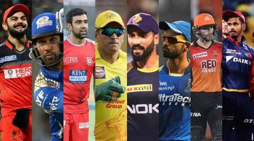 All IPL Team's Captain