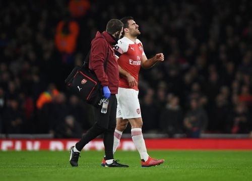Sokratis was ruled out for the game against Manchester City